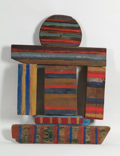 Betty Parsons - Two Ways, 1973 Abstract Images, Abstract Art, 3d Collage, Doodle, Wood Pieces, Museum Of Fine Arts, Old Wood, Abstract Sculpture, Wood Art
