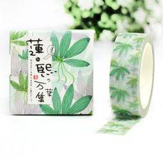 GREENSUMMER Japanese Washi Tape Masking by VenturerZCollections
