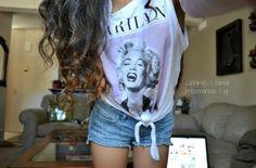 Marilyn Monroe top. ♡