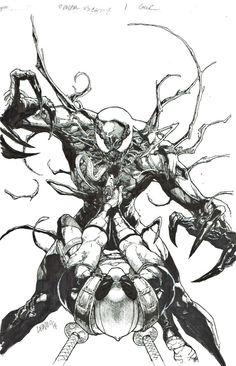 Deadpool Vs. Carnage   Leinil Francis Yu