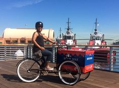 Meet Children's Librarian Ednita and the LAPL Book Bike!