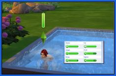 Gain Hygiene from swimming by Tanja1986 at Mod The Sims via Sims 4 Updates