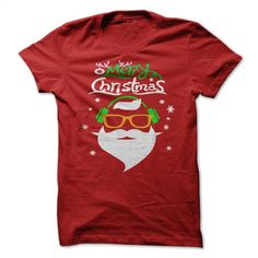 Santa Claus Music Merry Christmas T Shirt, Hoodie, Sweatshirts - custom tshirts #hoodie #clothing