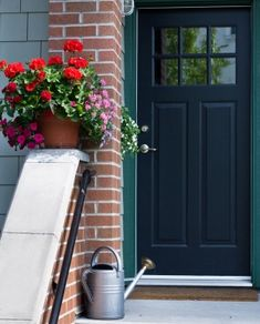 Front Door Styles In Wow Home Design Style with Front Door Styles - Garage Doors, Glass Doors, Sliding Doors 1950s House, House Front, House Exterior, Vinyl Doors, Front Door Decal, Exterior Doors, Garage Door Design, Front Door Styles, Doors