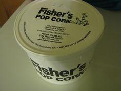 Fisher's popcorn on the boardwalk of Ocean city , MD