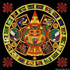mandala-azteca-roberto-valdes-sanchez.jpg (900×900)