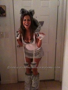 Homemade Sexy Big Bad Wolf (and Little Red Riding Hood) Costumes