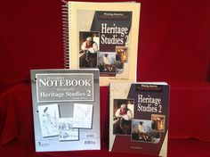 BJU Heritage Studies 2 Student Bk & Notebook, Teacher Ed. 2nd Ed, Bob Jones #TextbookBundleKit