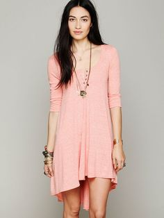 Drippy Jersey Dress - Free People  $78.00