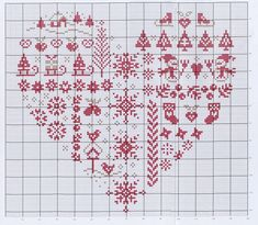 Cross Stitch*<3* Heart