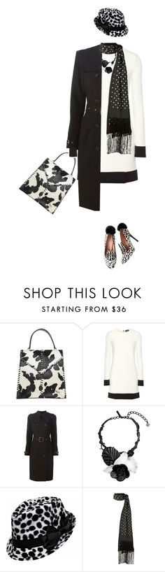 """""""Black and White"""" by marion-fashionista-diva-miller ❤ liked on Polyvore featuring Donald J Pliner, Tom Ford, Givenchy, Oscar de la Renta, Haider Ackermann, women's clothing, women, female, woman and misses"""