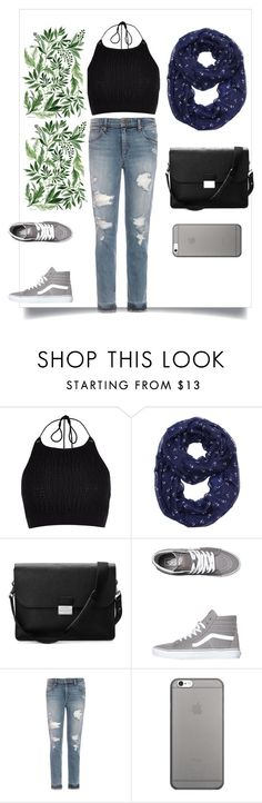 """""""."""" by devin-10 on Polyvore featuring River Island, Aspinal of London, Vans, Joe's Jeans and Native Union"""