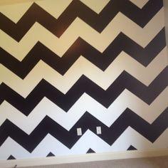 Lizzie's bedroom wall!