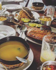 Tambaqui Matrinxã Tacacá... qual é sua comida favorita na Amazônia? . . .  #tambaqui #matrinxa #manaus #amazonia #comida #food #manauara #norte #brasil #cultura #tacaca #peixe #amazonas #amazonia #fish #viagem #pessoas