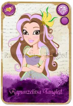 Ever after high Rapioizelitsa tangled