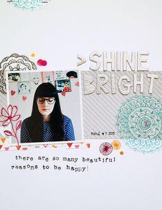 Shine bright by Sockergrynet at @studio_calico
