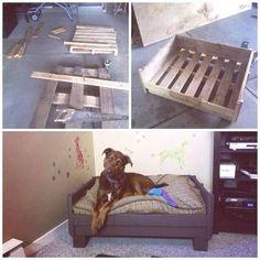Un lit pour chien en palette, voilà une idée déco récup qui va plaire à notre chien ! En mode panier surélevé ou canapé-lit tout confort, à roulettes ou sur pieds, fabriquez un lit en palette pour votre chien adoré et regardez le plaisir qu'il manifeste à se coucher dedans.Rédigé par Nina Mari