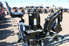 NEW 2018 ASG Heavy Duty Tractor or Skid Steer Backhoe Attachment - 7.5 Ft. Digging Depth $4950.00 Call Sean at 843-321-1500 Yanmar Tractor, Tractors For Sale, Equipment For Sale