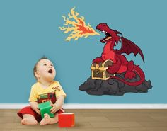 Wandtattoo Dragons - Klebefieber