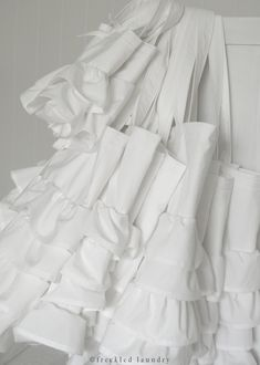 love white ruffles