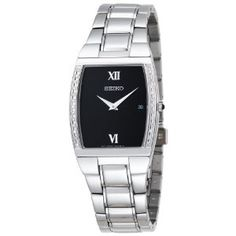 Seiko Men's SKP319 Diamond Dress Silver-Tone Watch (Watch)   *******   HOT DEALS & DISCOUNTS at http://hotonlinediscounts.com  *******