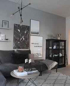 Styling til grå væg