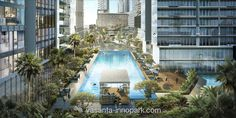 Vasanta Innopark Apartemen swimming pool #vasantainnopark