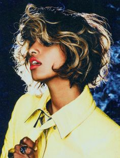 m.i.a. - hair color