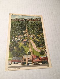 Unposted The Incline Up Lookout Mountain Chattanooga Tennessee Post Card