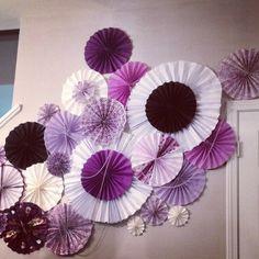 Pinwheel decoration bridalshower