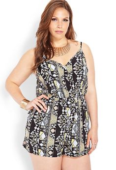 Romper Plus Size Style Inspiration Apparel Clothing Design #UNIQUE_WOMENS_FASHION