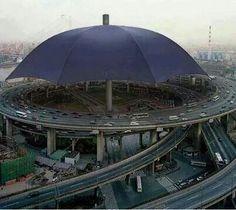 Biggest umbrella.China