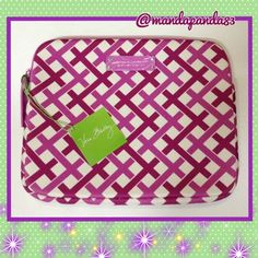 """Julip Tulip"" Neoprene Tech Case NWT This VB Neoprene tech case is too cute! The pattern is ""Tulip Julip"" and isn't as ""loud"" as her other prints! Keep your iPad safe and sound in this cute case. Measures 8"" X 10"". Vera Bradley Bags"