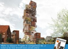 "Project ""Törnrosen Tower - an urban landmark (Cultu...competitionline"