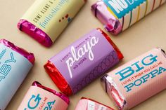 Wrapper's Delight: Cover Mini Chocolates with These '90s Chart Toppers (Free Printable!) via Brit + Co.