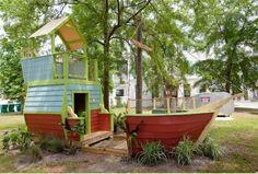 boat playhouses