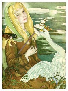 Los cisnes salvajes-The Fairy Tale Book-Adrienne Segur