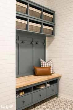 Mudroom bench under window IKEA Hemnes Hack: DIY Mudroom Bankhaus and Storage House by Hoff IKEA Hemnes Hac… {hashtag} recover deleted photos android 2020 Diy Storage Bench, Ikea Storage, Furniture Storage, Hallway Bench With Storage, Diy Entryway Storage, Cloakroom Storage, Garage Storage, Living Room Storage Units, Ikea Utility Room Storage