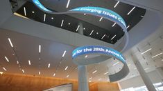 curving digital signage | The Pulse by Second Story