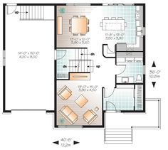 4 Bed Contemporary Split Level Home Plan - 22361DR | 2nd Floor Master Suite, Butler Walk-in Pantry, CAD Available, Canadian, Contemporary, Den-Office-Library-Study, Metric, Narrow Lot, PDF, Split Level | Architectural Designs