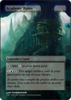 Magic The Gathering Academy Ruins Proxy