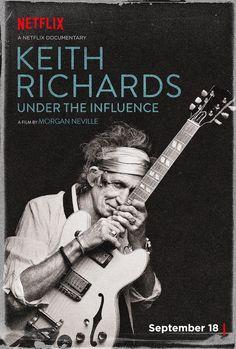 キース・リチャーズのドキュメンタリー『Keith Richards: Under the Influence』 トレーラー映像が公開