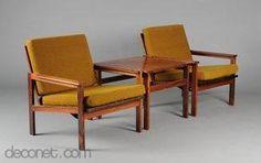 Capella, furniture set by Illum Wikkelsø at Decopedia