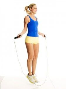 jump rope.  Can also be done without a rope.