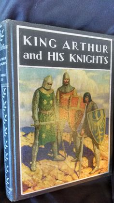 BEAUTIFUL BOOK WITH NICE COLOR & BLACK AND WHITE ILLUSTRATIONS THROUGHOUT. NICE PICTURE OF KNIGHTS ON COVER, SILVER PRINT FRONT AND SPINE. WINDERMERE SERIES. TIGHT, NO INTERNAL MARKINGS. King Arthur is a legendary British leader of the late 5th and early 6th centuries, who, according to medieval histories and romances, led the defence of Britain against Saxon invaders in the early 6th century. The details of Arthur's story are mainly composed of folklore and literary invention, and his ...