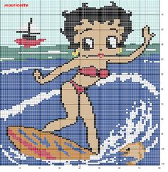 sandylandya@outlook.es  ♥Meus Gráficos De Ponto Cruz♥: Betty Boop