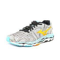 Mizuno Wave Paradox Women US 11.5 Gray Sneakers UK 9 EU 43, Women's, Size: 11.5 Medium, Blue