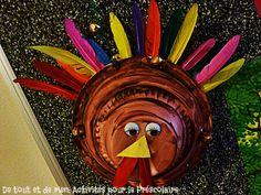 De tout et de rien: Activités pour le Préscolaire: Le dindon de la farce pour Thanksgiving!