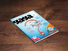 Magazine Cover Design for Creative Gaaga by Shab Majeed