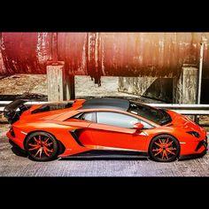 Sweeeeet Lamborghini Aventador